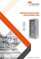ARMOIRES MODULAIRE DE DISTRIBUTION · Delvalle Box