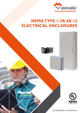 NEMA ELECTRICAL ENCLOSURES TYPE 1-3r-4x-12 · Delvalle Box