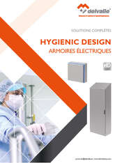 COFFRETS ARMOIRES HYGIENIC DESIGN · Delvalle Box