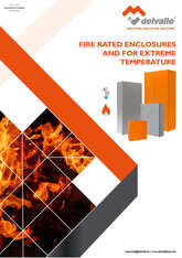 FIRE RATED ENCLOSURES AND FOR EXTREME TEMPERATURE CONDITIONS · Delvalle Box