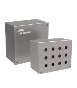 Stainless Steel Terminal Push Button Boxes GEO IP66 · Delvalle Box