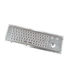 Teclado PC Antivandálico Inox IP65 · Delvalle Box