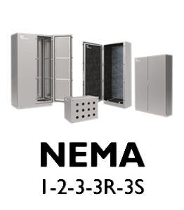 Nema Enclosures Types 1-3 · Delvalle Box