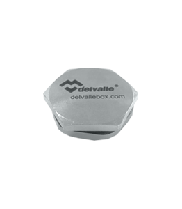 PG Stainless Steel AISI 304 Hexagon Plug IP68 · Delvalle Box
