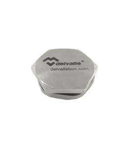 PG Nickel Plated AISI 304 Hexagon Plug IP68 · Delvalle Box