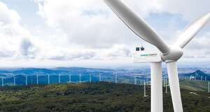 Las Cumbres, wind energy · Delvalle Box