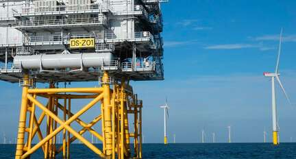 Wikinger, The largest Deep sea offshore windfarm · Delvalle Box
