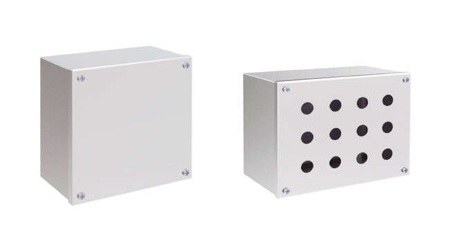 Aluminium Push-Button Geo IP66 · Delvalle Box
