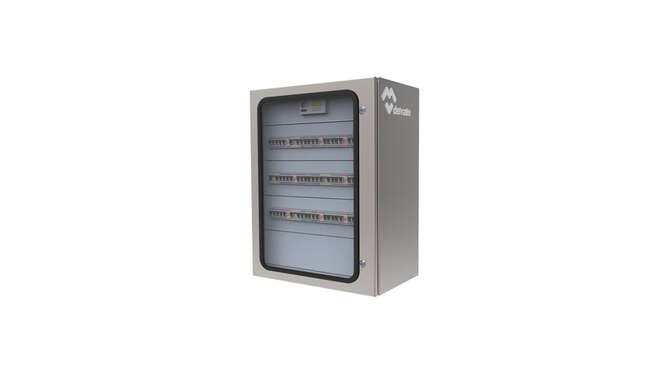 Modular Distribution Wall Cabinets Luxor IP66 · Delvalle Box