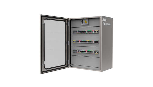 Luxor Stainless Steel Modular Distribution Wall Cabinets IP66 · Delvalle Box