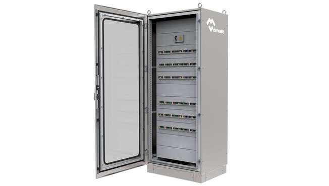 Stainless Steel Modular Distribution Cabinets Titan · Delvalle Box