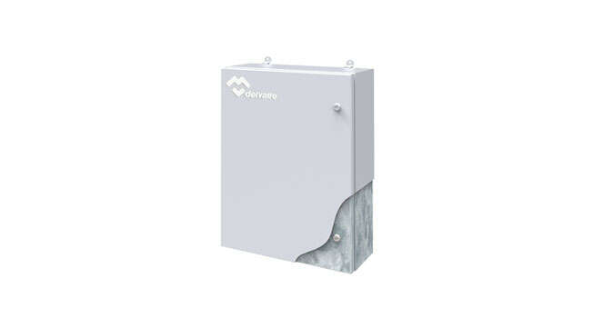 Galvanized Steel Wall Enclosure Luxor IP66 · Delvalle Box