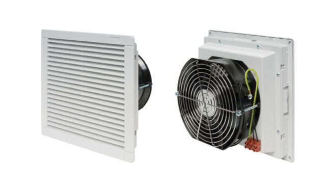 Filter Fan Stainless Steel  with Casing Prius IP55 · Delvalle Box