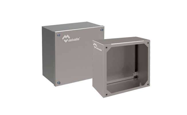 Stainless Steel Junction Box Geo IP66 · Delvalle Box