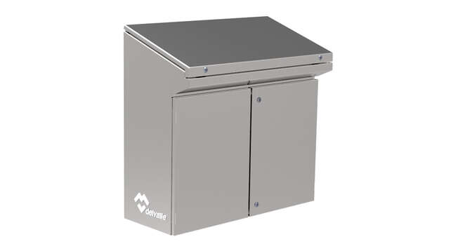 Stainless Steel Console Riviera IP66 · Delvalle Box