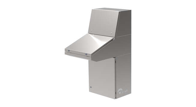 Pupitre Inoxydable Atrium IP55-66 · Delvalle Box