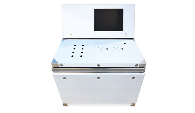 Stainless Steel Dismountable Console Atrium IP66 · Delvalle Box