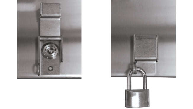 Safety Lock · Delvalle Box