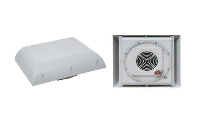 Roof fan · Delvalle Box