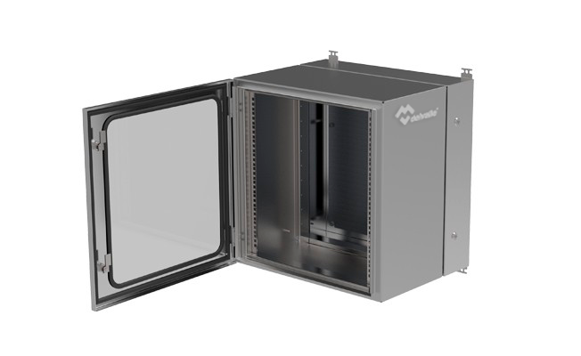 Rack enclosure split body · Delvalle Box