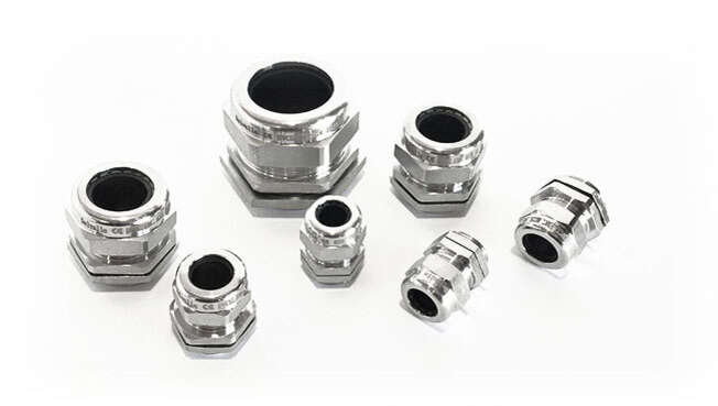 Metric EMC Nickel Plated Cable Glands IP68 · Delvalle Box