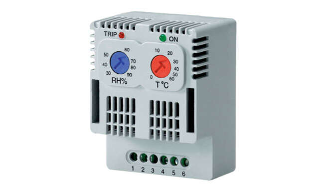 Thermo-Hygrostat · Delvalle Box