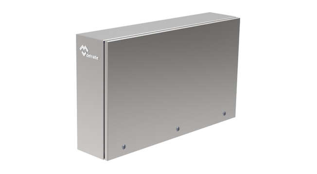 Panoramic Wall Mounted Stainless Steel Enclosure Luxor Tedeo IP66 · Delvalle Box