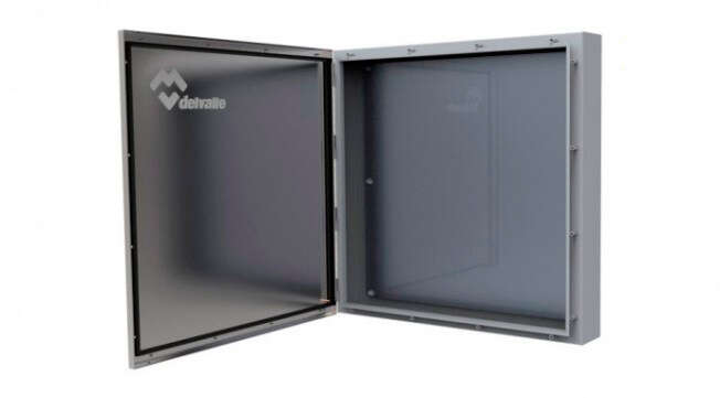 Stainless Steel Wall Mounted Enclosure Luxor IP67 · Delvalle Box