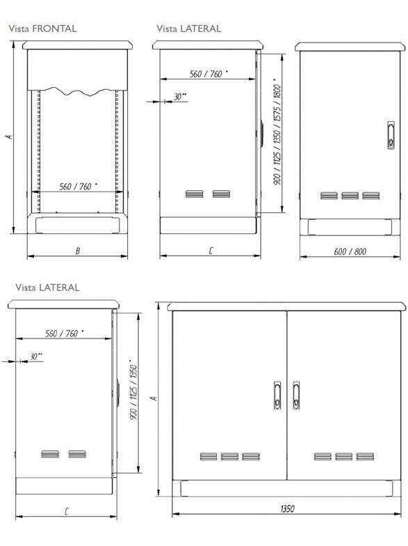 BLUEPRINT AND DIMENSIONS · Delvalle Box