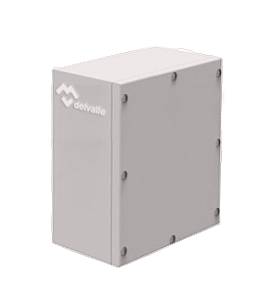 Caja de Bornes Inoxidable Geo IP67 · Delvalle Box