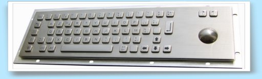 stainless steel keyboard