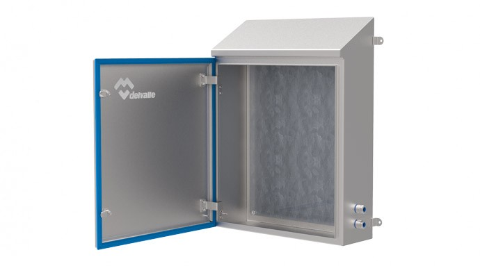 Enclosure Of Stainless Steel Hygienic For The Food